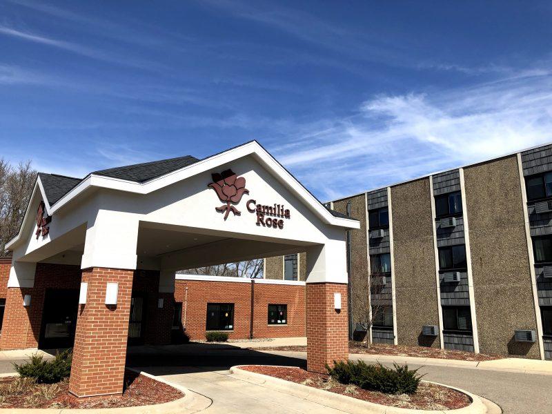 Camilia Rose Care Center main entrance