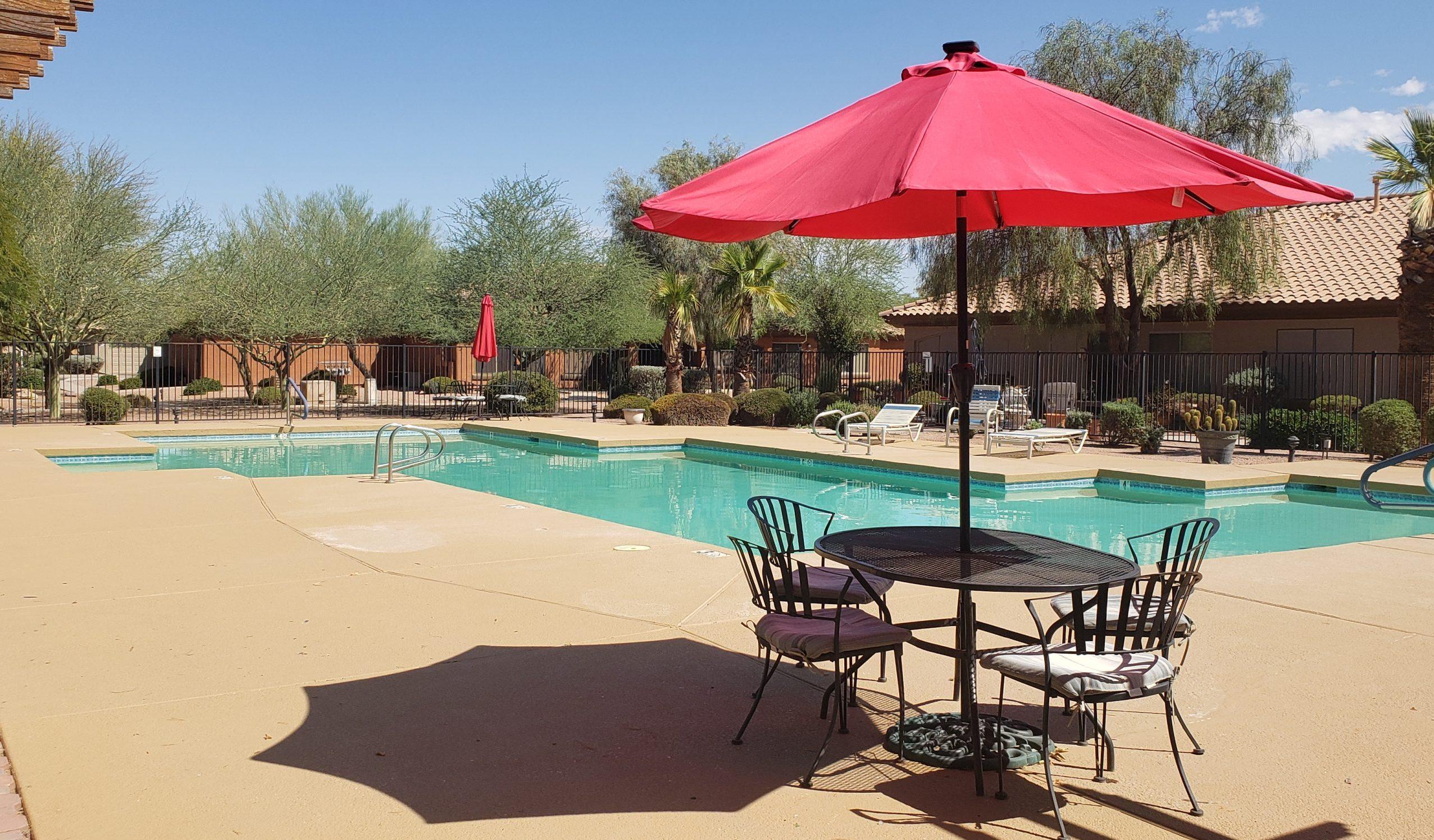Casa Grande swimming pool