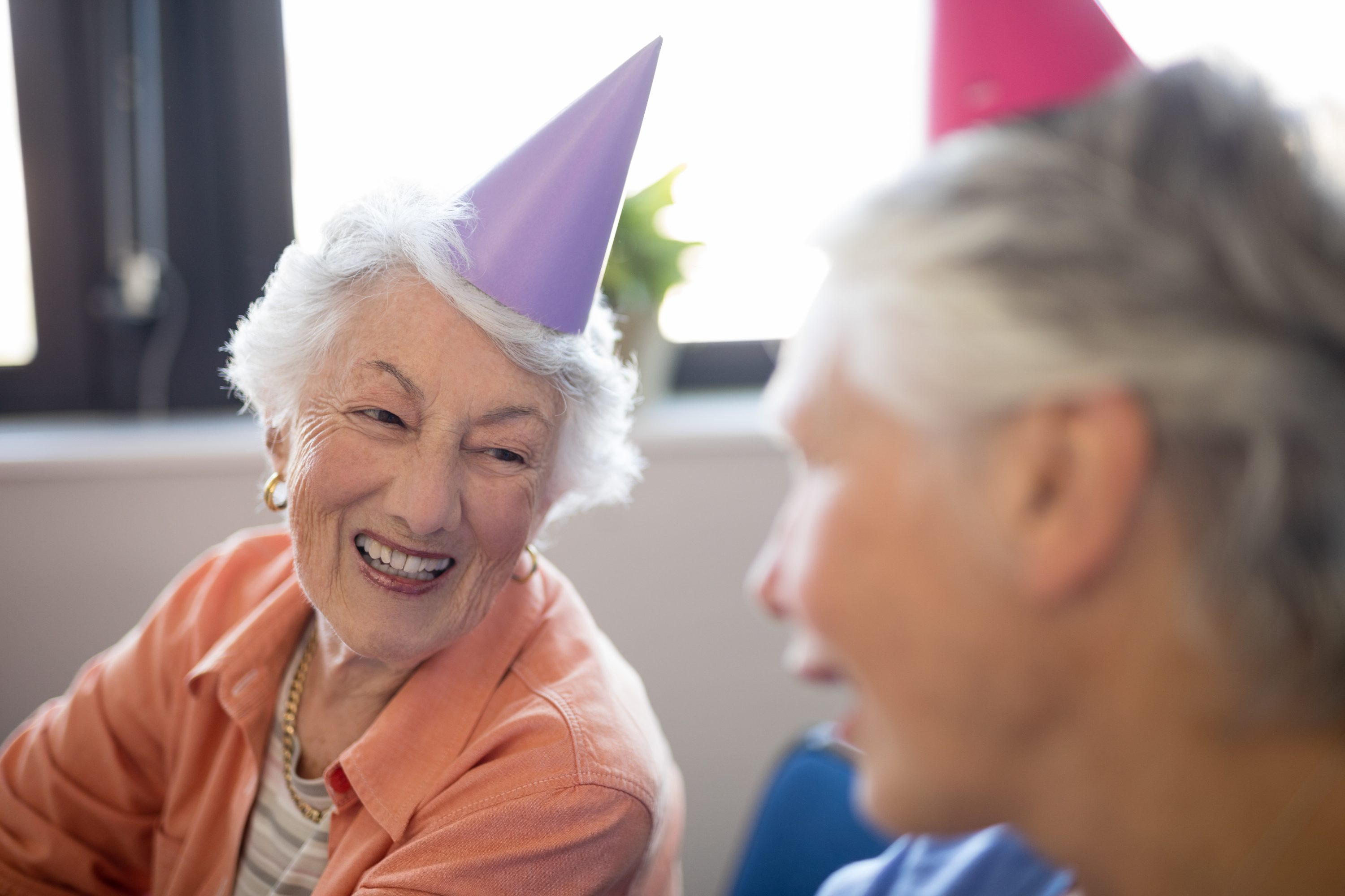 Birthday party for seniors