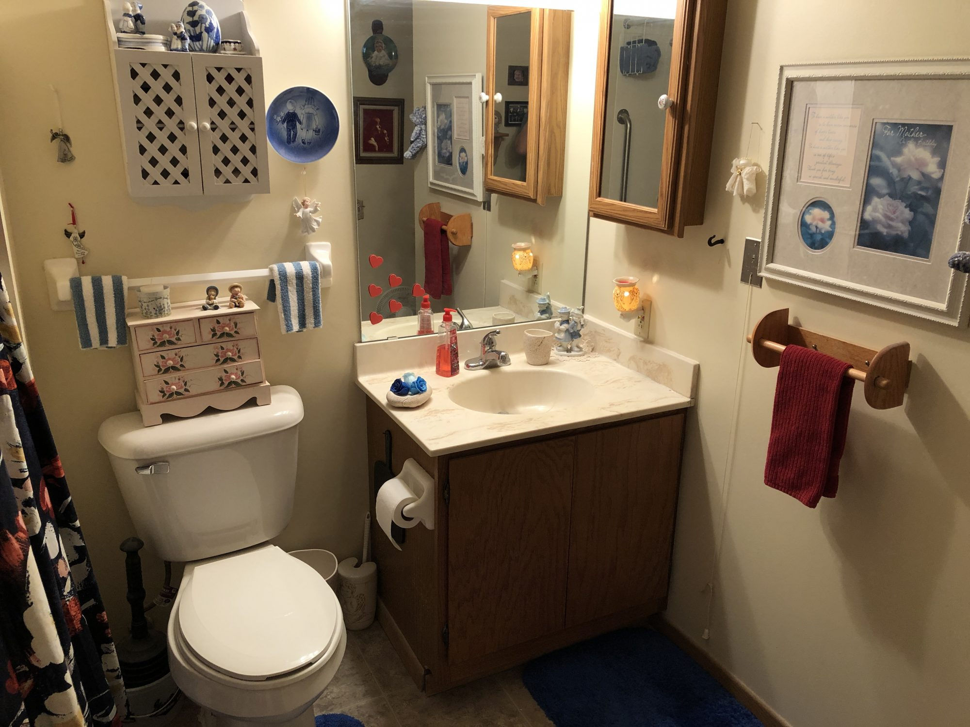 Margaret Place bathroom
