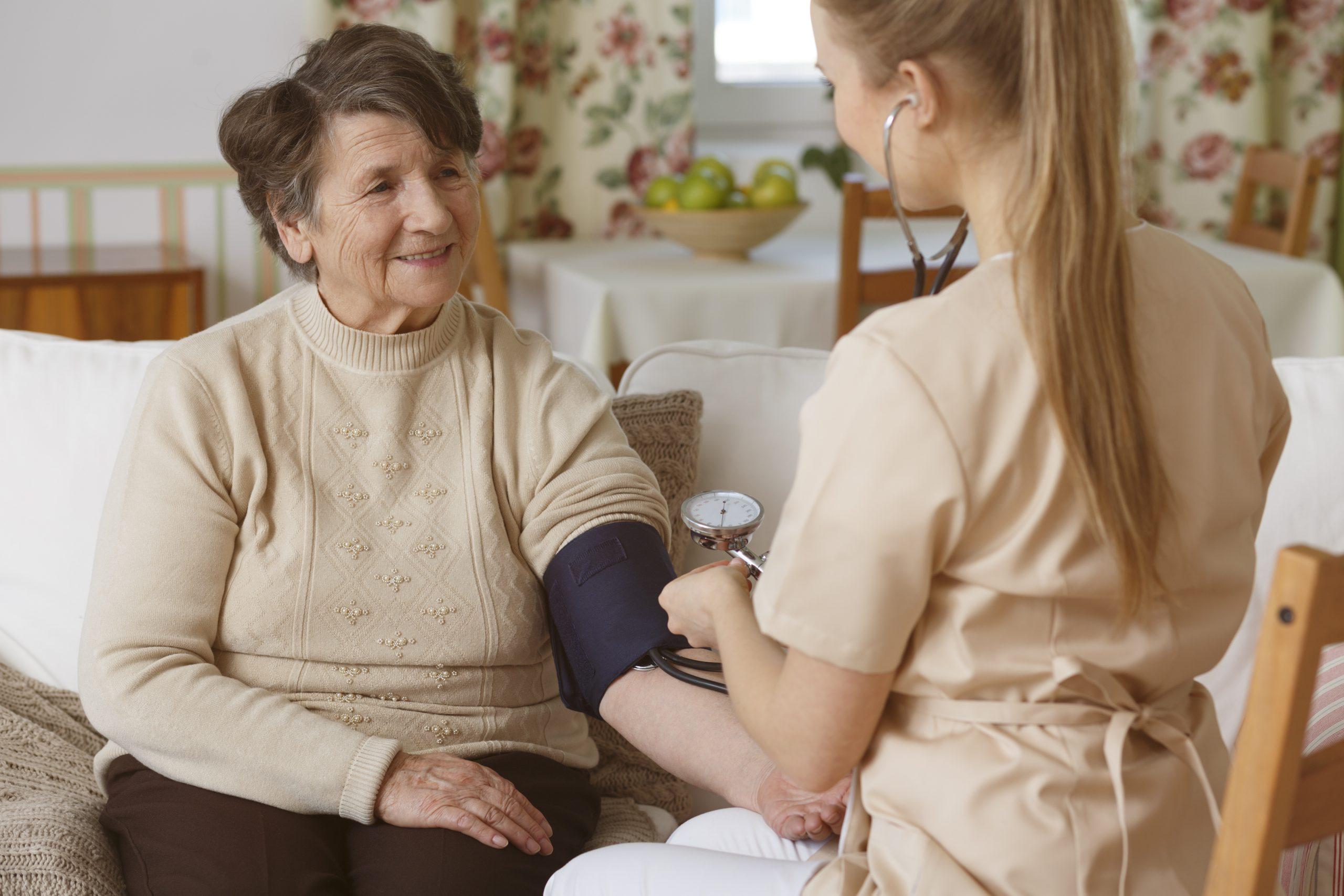 Home health vital sign monitoring