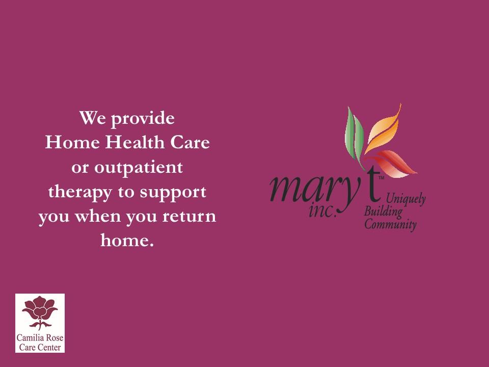 Camilia Rose Care Center slide 10