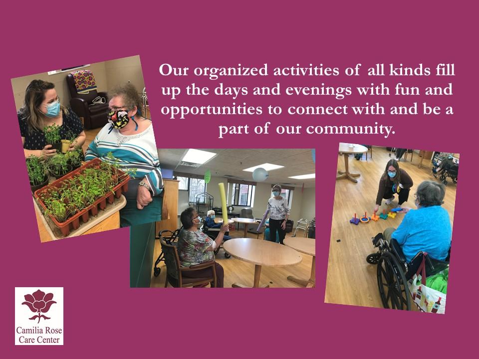 Camilia Rose Care Center slide 17