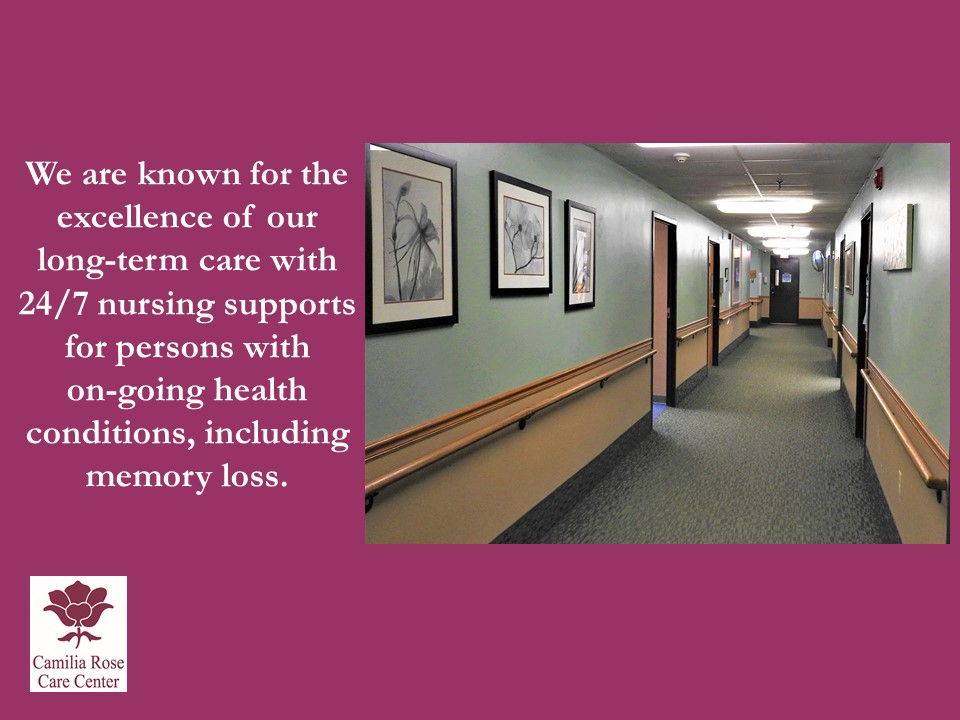 Camilia Rose Care Center slide 18