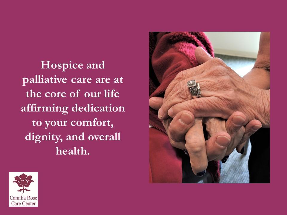 Camilia Rose Care Center slide 20