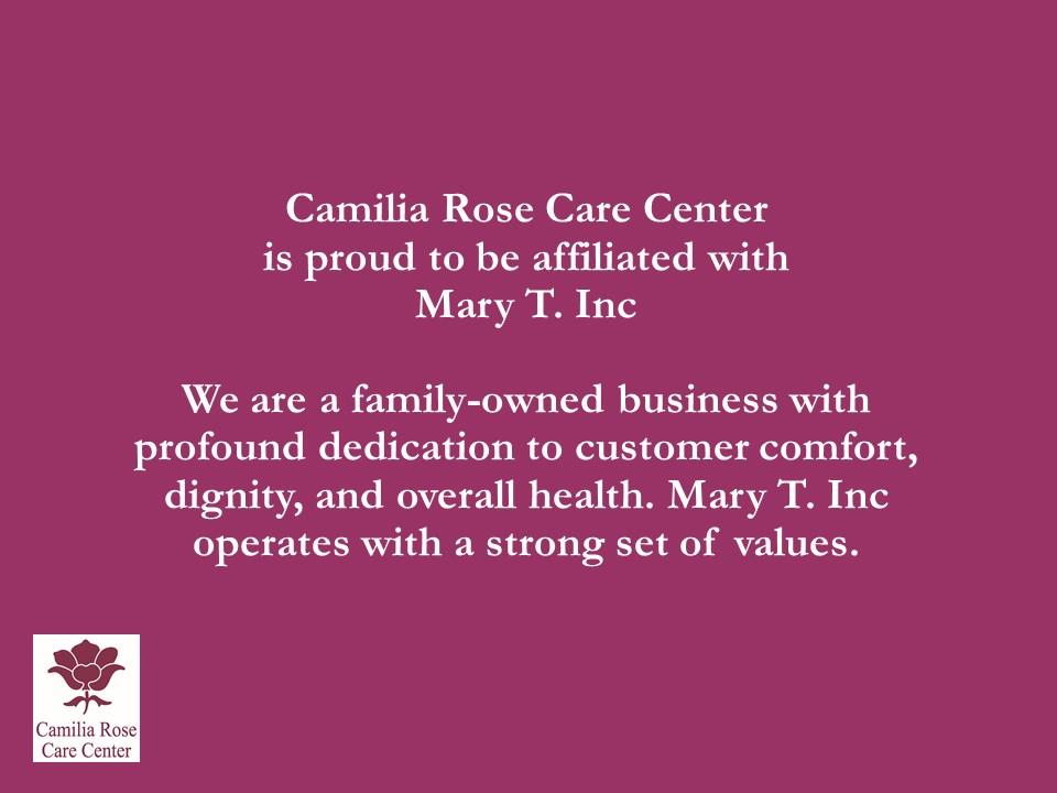 Camilia Rose Care Center slide 23
