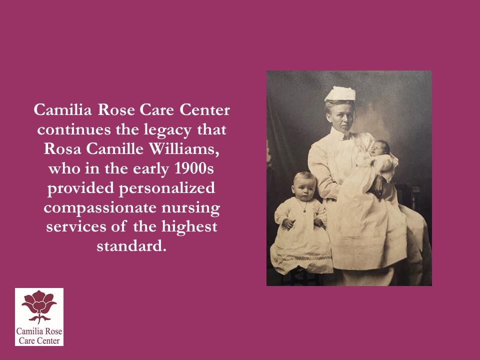 Camilia Rose Care Center slide 3