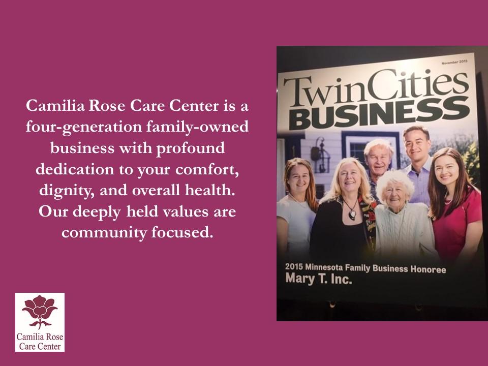 Camilia Rose Care Center slide 4