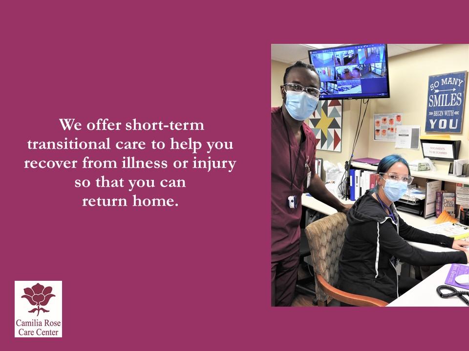 Camilia Rose Care Center slide 6