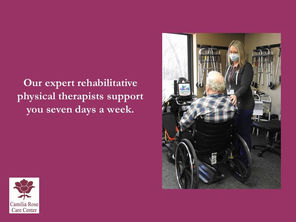 Camilia Rose Care Center slide 8