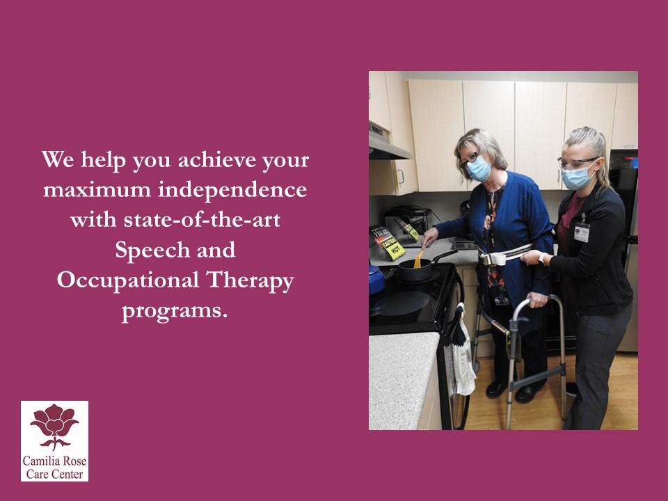 Camilia Rose Care Center slide 9